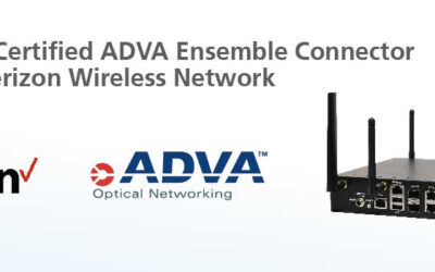 Lanner Whitebox Solutions™ L-1515 certified ADVA Ensemble Connector uCPE on Verizon Wireless Network