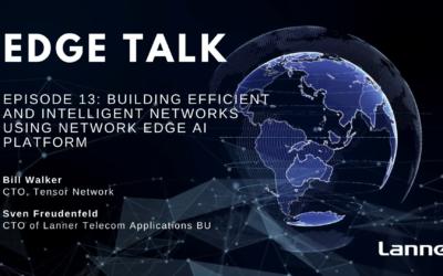 Episode 13: Building Efficient and Intelligent Networks Using Network Edge AI Platform